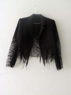TLC laser cut jacket