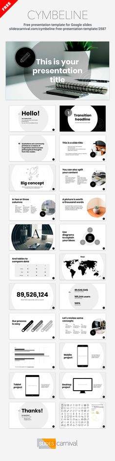 Best Free Presentation Templates Images On Pinterest In - Poster template google docs