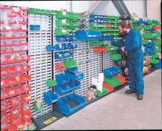 Moresecure Small Parts Storage