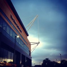 Molineux. Home of Wolverhampton Wanderers.