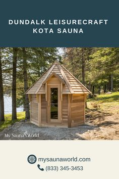 The moment you see the Outdoor Kota Sauna, you will agree it's one of the most unique saunas you'll ever know. The easy-to-access high benches with a bottom step make each sauna session very relaxing and comfortable. PLUS get all the Elite Accessories for FREE when you buy ANY Dundalk Sauna. See details here. Indoor Sauna, Indoor Outdoor, Sauna Lights, Wood Burning Heaters, Traditional Saunas, Sauna Heater, Real Fire, Wood Pieces, Shed