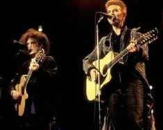 Bowie and Robert Smith.
