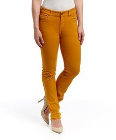 Look what I found on #zulily! Dijon Mustang Sally Straight-Leg Jeans by LNO jeans #zulilyfinds