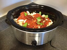 HEALTHY CROCKPOT CHICKEN CACCIATORE RECIPE. FitnessBarbie Blog.