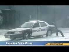 Canadian Police Chase - Spoofing a breaking news report, the new national Midas television spot Chase humorously conveys the need for winter tires and the importance of winter car maintenance. Seasonal tire changes are a ritual for Canadian drivers. Winter Car, Winter Tyres, Canadian Winter, Police Cars, Funny Police, Christmas Cats, Christmas Decor, Commercial Vehicle, Funny Pranks