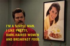 I love Ron Swanson! 18 Of The Best Ron Swanson Quotes Parks N Rec, Parks And Recreation, Alter Ego, Haha Funny, Hilarious, Funny Stuff, Funny Things, Awesome Stuff, Funny Pix