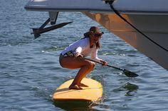 Siren® photo shoot for Athleta's Siren SUP giveaway. #Siren #Athleta #standuppaddle