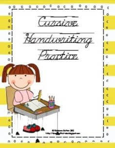 Cursive Handy Handwriting. Great pic! Have a look at this Cursive Handwriting post. http://www.tpt-fonts4teachers.blogspot.com/2013/02/cursive-style-fonts-family.html