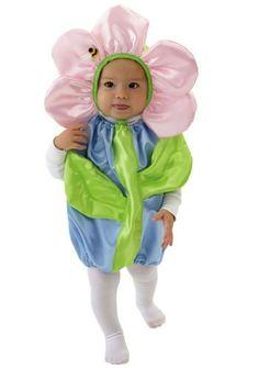 Mullins Square Flower Pot Baby Costume  Blue   6 18 Months