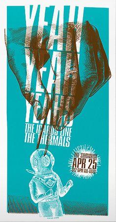 Andrio Arbero Poster for The Showbox, April 2003