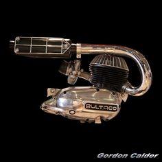 (No. 118 ~ BULTACO M10 CLASSIC TRIALS BIKE ENGINE (AROUND 1966), by Gordon Calder, via Flickr)