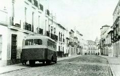 Corredera San Bartolome 1920 Street View, Andalusia Spain, Antique Photos