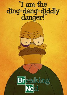 Simpsons/Breaking Bad mashup