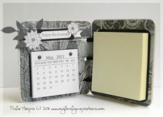 Calendar And Post It Note