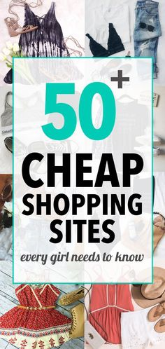 50 Cheap Shopping Sites Every Girl Needs To Know : List of cheapest shopping sites that are very stylish and trendy yet very affordable Our editors picked the cheap yet stylish shopping sites that sell reliable, trendy clothes - Cheap Shopping Sites, Shopping Hacks, Discount Shopping Sites, Shopping Shopping, Afro Punk, Stylish Dresses, Women's Dresses, Site Mode, Clothing Sites