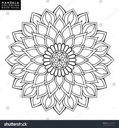 Find mandala stock images in HD and millions of other royalty-free stock photos, illustrations and vectors in the Shutterstock collection. Mandala Art Lesson, Mandala Drawing, Mandala Painting, Dot Painting, Drawing Flowers, Drawing Drawing, Motif Oriental, Oriental Pattern, Mandala Coloring Pages