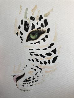 Watercolour painting of leopard leopard tattoos, cat tattoo designs, learn art, love tattoos Leopard Tattoos, Painting Inspiration, Art Inspo, Cat Tattoo Designs, Bild Tattoos, Wildlife Art, Art Sketchbook, Animal Paintings, Cat Art