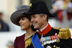 Oct 20 - Crown Princess Mary and Crown Prince Frederik of Denmark