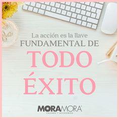 "MoraMora on Instagram: ""Así llegarás al éxito. . . #moramora #frases #frasesenespañol #frasesbonitas"" Instagram, Spanish Quotes"