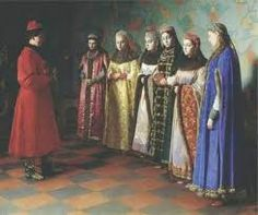 Image result for IVAN THE TERRIBLE'S 6 WIVES PAINTING