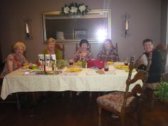 These beautiful ladies had an excellent meal and enjoyed the camaraderie
