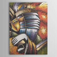 Hand Painted Oil Painting Abstract People 1303-AB0330 – USD $ 54.99