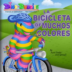 MULTI-Award-Winning Book, 'La Bicicleta de Muchos Colores'.   Summary: Baxter is delighted when he receives a unique gift from his bicycle buddies made with love and a hodgepodge of parts. However, his excitement is short-lived when he comes across the Dino-BuLLies, who tease him and make fun of this most unusual gift. In a surprising turn of events, Baxter responds to the bullying in an unexpected manner that proves not only his true character but also his genuine concern for others.