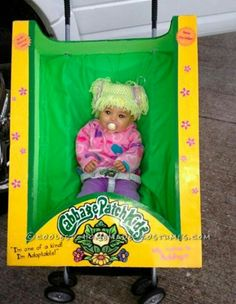 Another Cabbage Patch Kid costume.  Great for little ones who will be in a stroller!