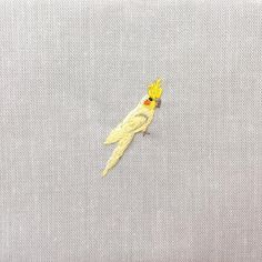 Day 95. Cockatiel. Now Relisted! I have made a sale section with lots of pouches so check them out in my shop! Click link in bio. I'm wrapping up 100 days of embroidery and have some great pendants coming soon! .  .  .  .  #embroidery  #craftposure  #etsy  #100dayproject #thimblethistle #needlework  #embroideryeveryday #contemporaryembroidery #makersmovement #hoopart #makeracademy #modernmaker #handmadeparade #stitchersofinstagram #dmcthreads #handmadeisbetter  #cockatiel #birdembroidery