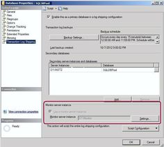 Steps to add Log Shipping monitor into an existing SQL Server