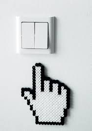 Resultado de imagen de hama bead computadora