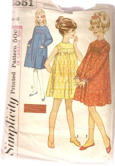 461d986f72087 VINTAGE Simplicity Sewing Pattern 5551 - Children s Clothes - Girl s Dress