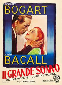 The Big Sleep | Italian 2-Foglio Movie Poster, 1946