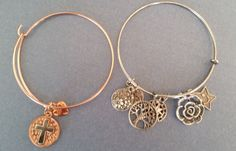 Expandable charm bracelet by LoveandLifeCreations on Etsy
