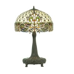 31 Inch H Rococo Table Lamp