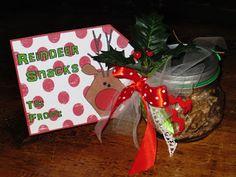 Christmas Treats for Gifts | HOMEMADE CHRISTMAS GIFTS - REINDEER SNACKS!