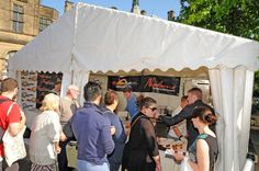 Pop-up stall at Food Festival