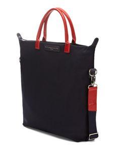 want les essentiels de la vie - o'hare shopper tote Backpack Straps, Backpack Bags, Tote Bag, Canvas Leather, Leather Bag, Types Of Bag, Market Bag, Shopper Tote, Looks Cool