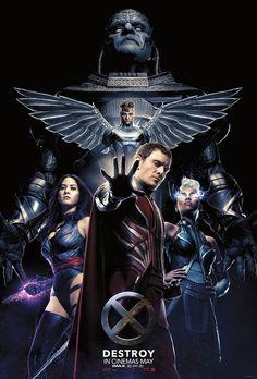 Novo cartaz de X-Men reúne os Quatro Cavaleiros e Apocalipse - Notícias de cinema - AdoroCinema