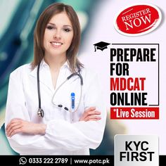 KYC First provides an opportunity to learn MDCAT online. Get yourself registered for the live classes carried by our entry test specialists. The expert professionals are just a click away. So, don't wait and REGISTER NOW. For more information, whatsapp us at +92 333 2222 798  #KycFirst #KycFirstOnlineTuitionCenter #OnlineTuitionCenter #mdcat #mdcat2020 #exams2020 #mdcattest #predental #mdcatprep #premedical #nums #fsc #uhs #medical #doctor #ecat #chemistry #biology #pakistan #mcat #english