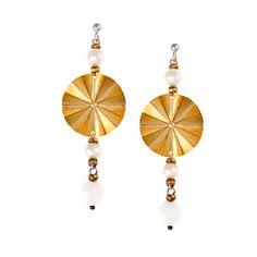 Σκουλαρίκια σε Επιχρυσωμένο Ασήμι με Μαργαριτάρια Drop Earrings, Jewelry, Jewlery, Jewerly, Schmuck, Drop Earring, Jewels, Jewelery, Fine Jewelry