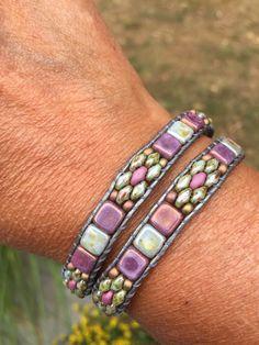 Wrap Bracelets, Beaded Bracelets, Patterns, Leather, Jewelry, Block Prints, Jewlery, Jewerly, Wire Wrap Bracelets