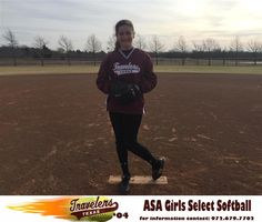 https://flic.kr/p/DjFrEC | Emily Jonte | Emily or better known as MJ to her fans and teammates plays pitcher and outfield for the Texas Travelers. She patterns her game on being a five tool player. She can run, hit for power, has a strong arm, loves to chase down fly balls in the outfield and can be counted on to drive in runs. As a pitcher she will offer you 5 pitches: fastball, screwball, change, curve, drop and she may throw each one during one at bat.    Emily led her school team to the…