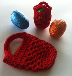 Mini-mini Crochet Gift Bag Free Pattern