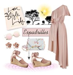 """""""Summer Blush ..."""" by krusie ❤ liked on Polyvore featuring Tory Burch, Zimmermann, Ted Baker and Allurez"""