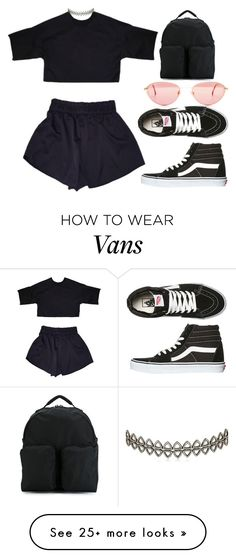 """""""Untitled #392"""" by trulydope on Polyvore featuring adidas Originals, Assya London and Vans"""