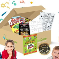 852d2d7607566 An award winning subscription to motivate and engage your 7-12 year old  child s growing