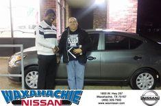 Congratulations Henry on your #Nissan #Versa Sedan from Rubel Harmon at Waxahachie Nissan!  https://deliverymaxx.com/DealerReviews.aspx?DealerCode=Y811  #WaxahachieNissan