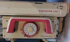 Uhhh what!? Toyota KS858 knitting machine