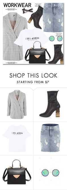 """""""workwear"""" by paculi ❤ liked on Polyvore featuring Topshop"""